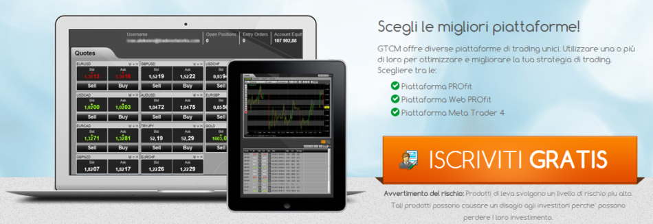 piattaforme trading gtcm