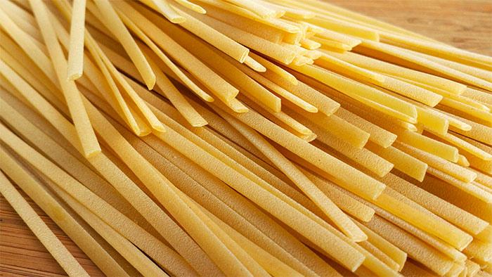 Ricetta Trenette Con Zucchine, Pomodorini e Maggiorana
