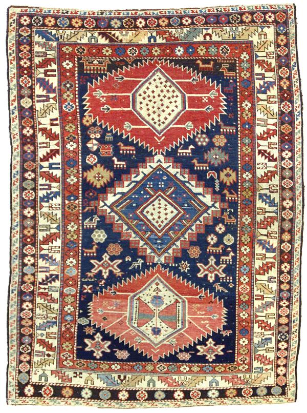 La bellezza dei tappeti caucasici da collezione